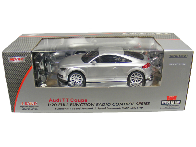TOYANDMODELSTORE Remote Control Car Audi TT Coupe Scale RC - Audi remote control car